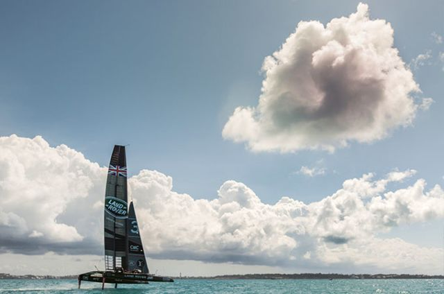 AMERICA'S CUP CHALLENGER PLAY-OFFS