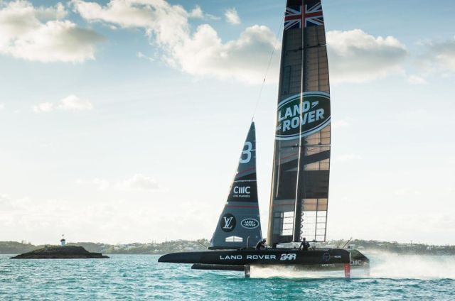 LAND ROVER COMMITS TO SIR BEN AINSLIE'S QUEST TO WIN THE 36th AMERICA'S CUP