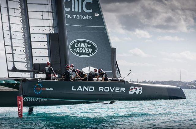 BAR VICTORIOUS IN THE AMERICA'S CUP WORLD SERIES