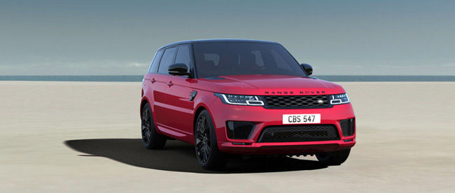 Explore Exterior Muscular And Perfectly Proportioned Range Rover Sport