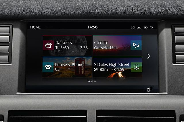 "INCONTROL TOUCH WITH 8"" TOUCHSCREEN"