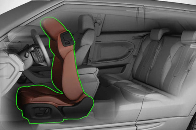 REAR SEAT ACCESS ON COUPÉ MODELS