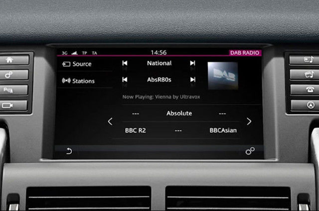 DIGITAL AUDIO BROADCASTING (DAB) RADIO – INCONTROL TOUCH