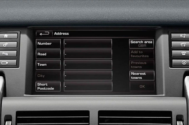 NAVIGATION SYSTEM – ENTERING A DESTINATION – INCONTROL TOUCH PLUS