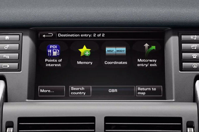 NAVIGATION SYSTEM – POIS – INCONTROL TOUCH PLUS