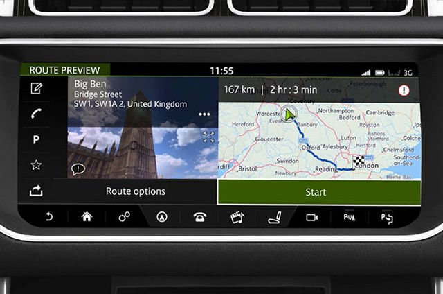 TOUCH PRO: NAVIGATION-ENTERING A DESTINATION