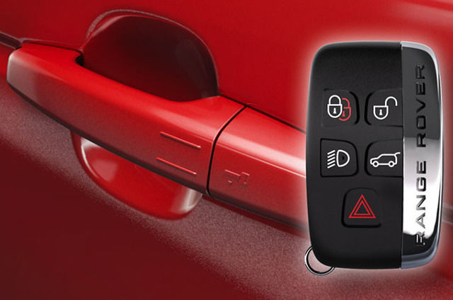 SMART KEY SYSTEM-KEYLESS ENTRY & LOCKING