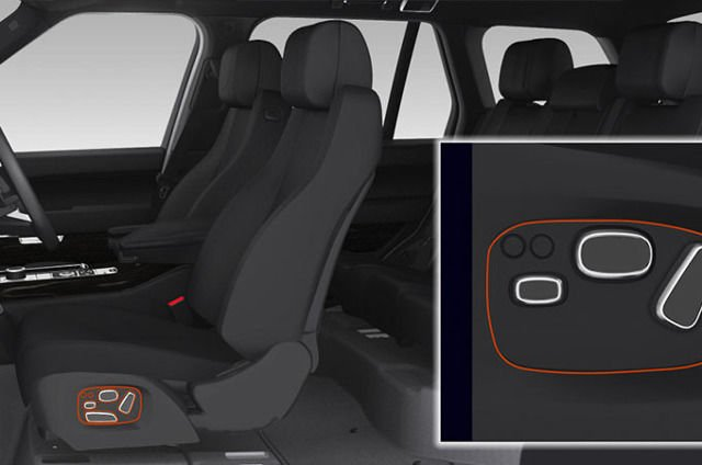 SEAT ADJUSTMENT AND DRIVING POSITION MEMORY