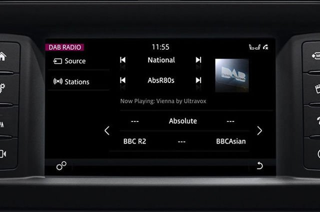 TOUCH: DIGITAL AUDIO BROADCASTING (DAB) RADIO