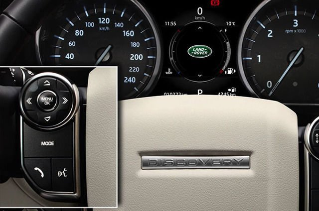 TOUCH: STEERING WHEEL CONTROLS