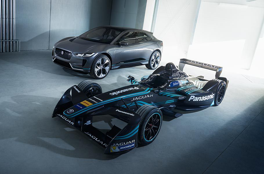 I-PACE CONCEPT: FROM RACE TO ROAD