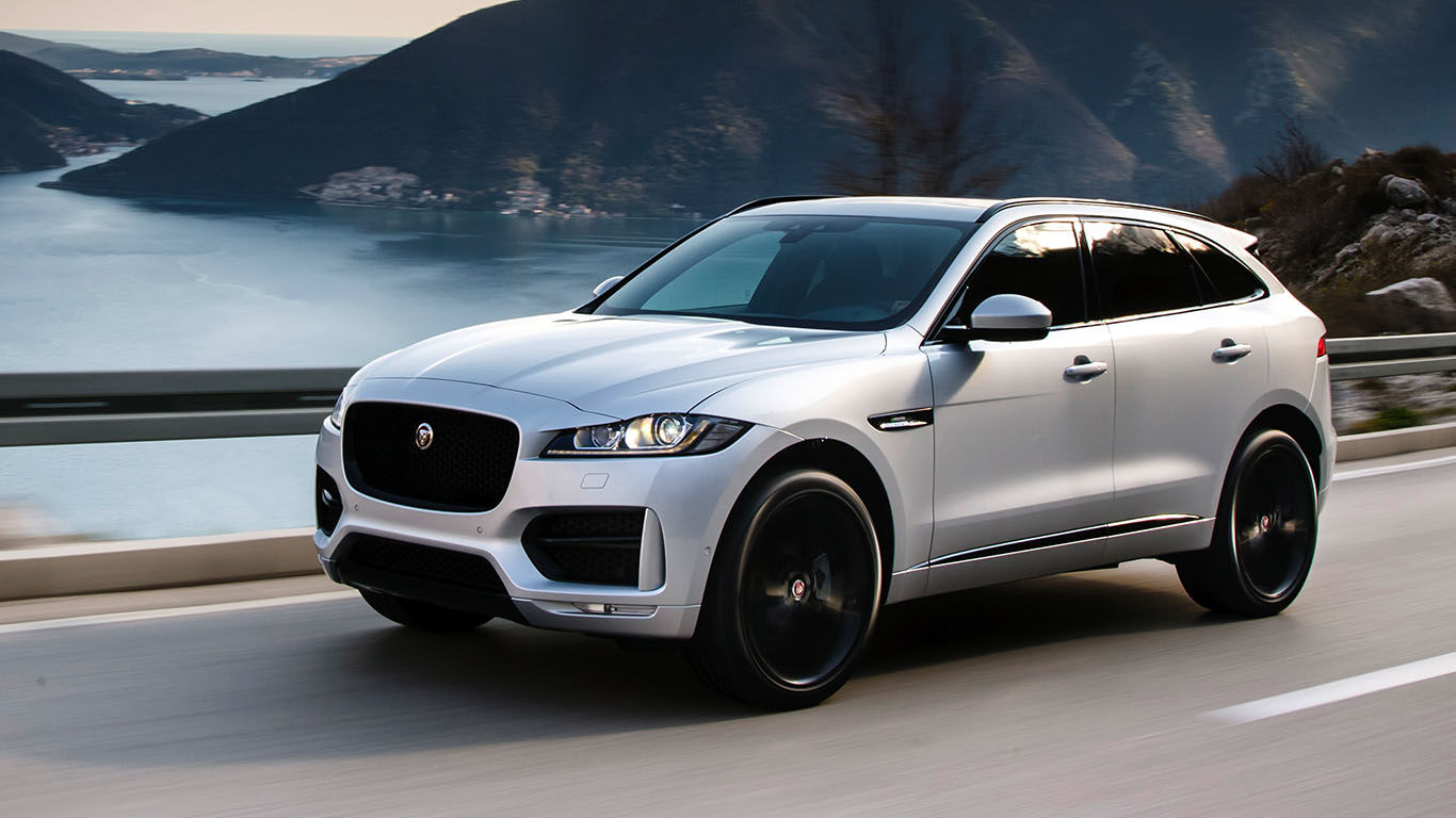 F Pace Ride And Drive