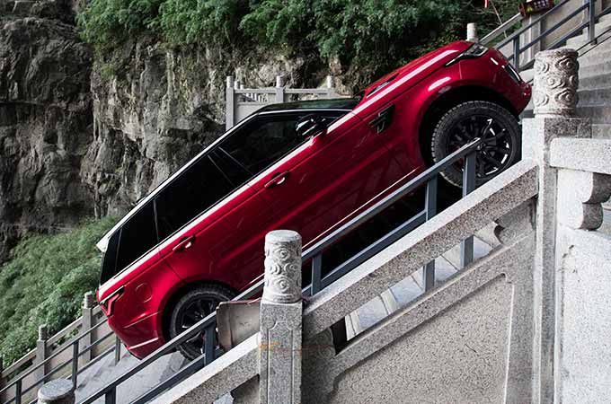 New Range Rover Sport conquered Tianmen Mountain
