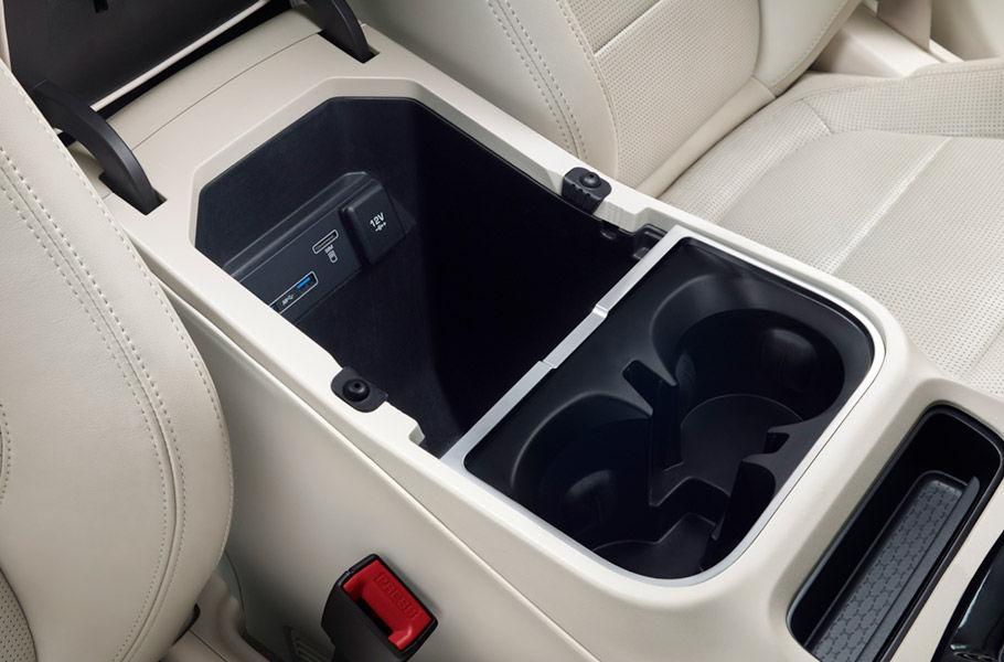 אחסון בתוך הרכב